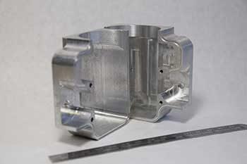 manufactured aluminum housing